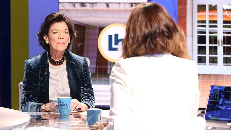 Entrevista íntegra a Isabel Celaá en 'La hora de la 1' de TVE