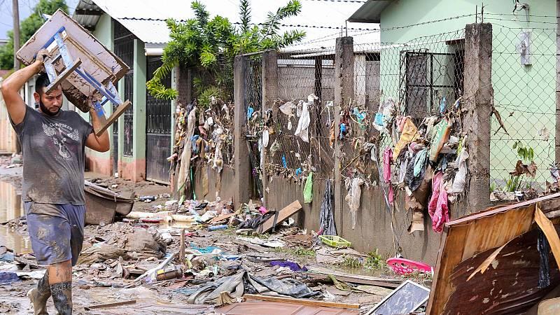 Honduras se recupera de la devastación del huracán Iota