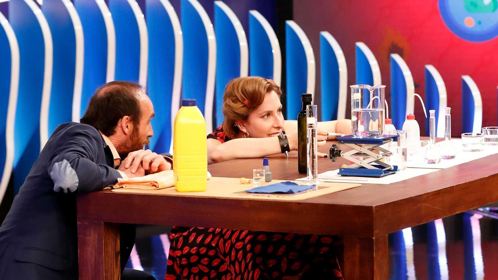 Órbita Laika - Química con Deborah García - Tensioactivos