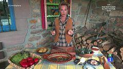 Paloma San Basilio nos prepara su ensalada favorita en Baztán