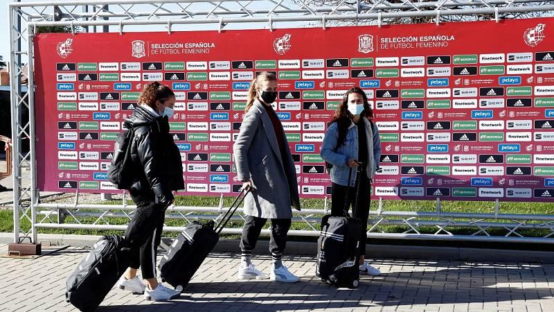 La selección femenina se concentra con el objetivo de clasificarse para la Eurocopa de 2022