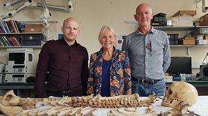 Los esqueletos de Mary Rose: Nuevos hallazgos
