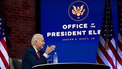 Biden perfila su Administración ante la disputa legal de Trump