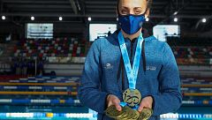 Lidón Muñoz consigue su reto: 10 oros en el nacional en piscina corta