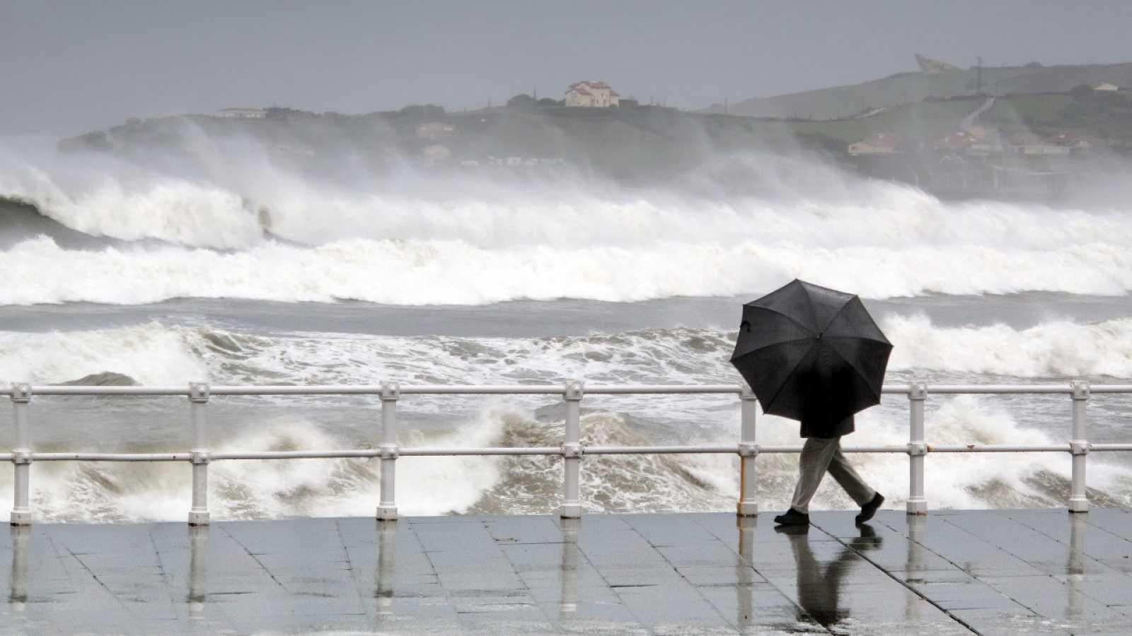 Precipitaciones persistentes este martes en el extremo oeste de Galicia