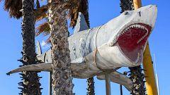 'Bruce', el tiburón de Spielberg, se expone en un museo de Los Ángeles