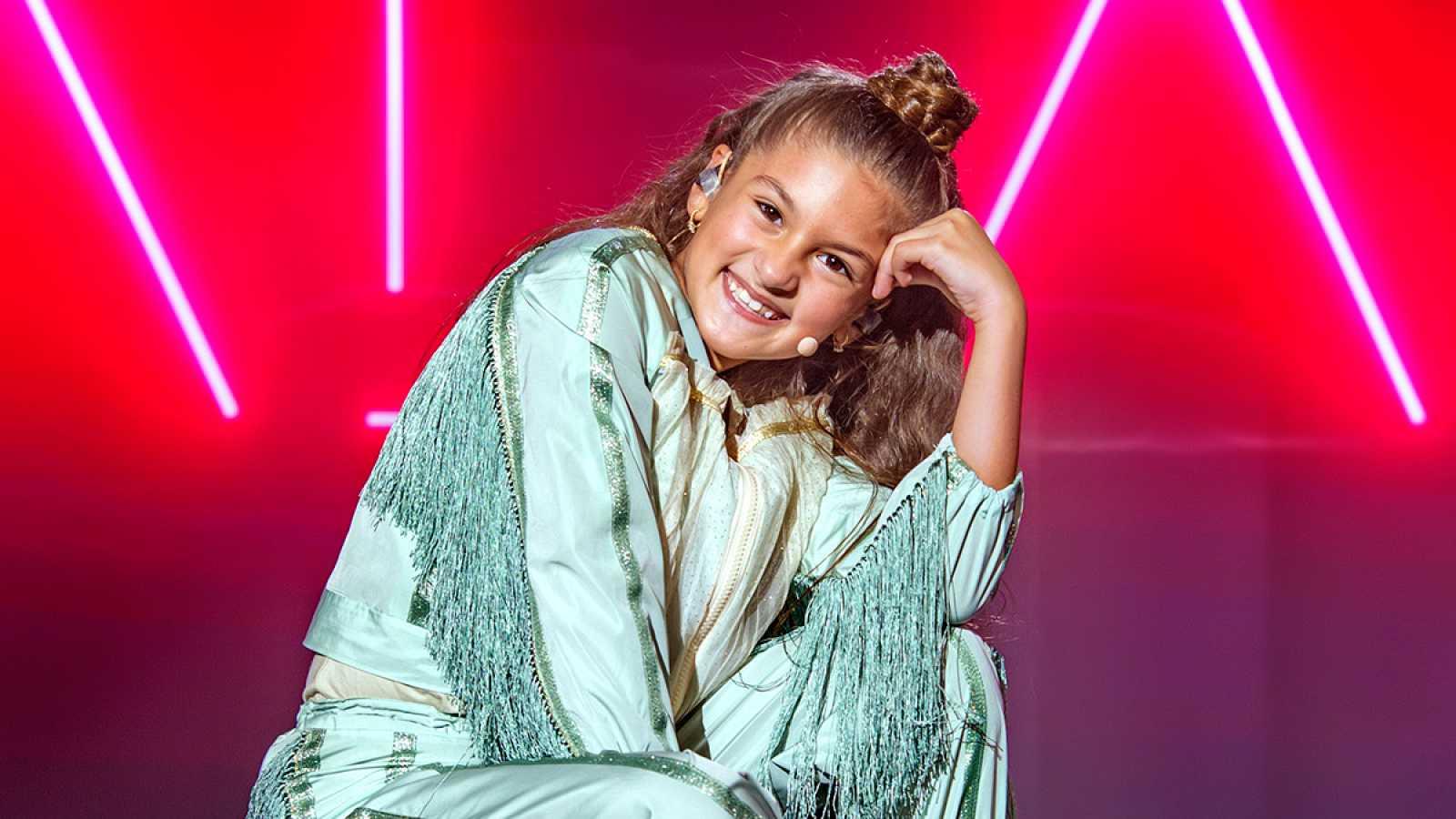 """Eurovisión Junior 2020 - Entrevista exclusiva a Soleá tras cantar """"Palante"""""""
