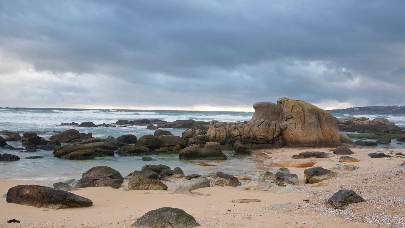 Precipitaciones localmente persistentes en el extremo oeste de Galicia - Ver ahora