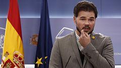 ERC anuncia un preacuerdo con el Gobierno para apoyar los Presupuestos