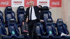 """Zidane se queja del calendario: """"El espectáculo no es lo mismo"""""""