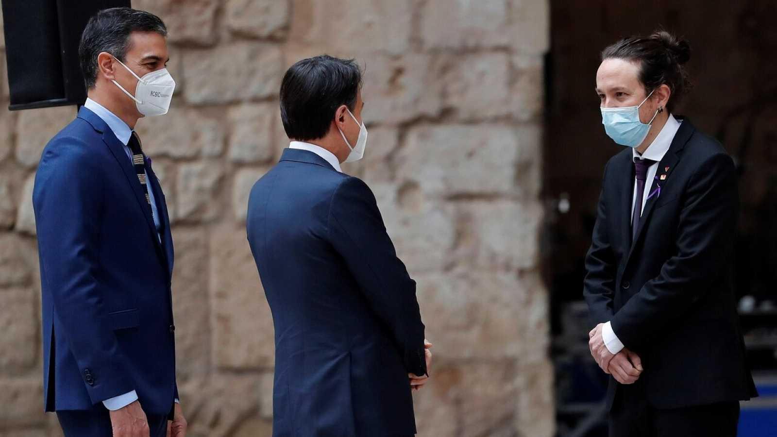 """Iglesias reconoce """"tensiones"""" dentro del Gobierno pero resalta la """"confianza mutua"""" con Sánchez"""