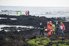 Se elevan a ocho las víctimas del naufragio de una patera en Lanzarote
