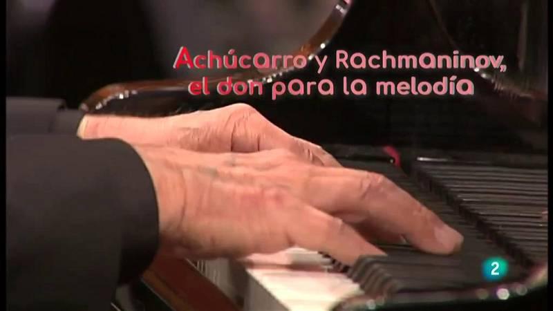 La aventura del saber Achúcarro y Rachmaninov Orquesta de Radio Televisión Española piano y orquesta #AventuraSaberMúsica