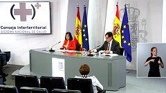 Especial informativo - Comparecencia del ministro de Sanidad, y ministra de Política Territorial - 25/11/20