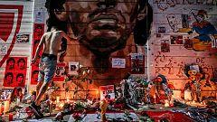 """Los fans reaccionan a la muerte de Maradona: """"Se murió el fútbol argentino"""""""