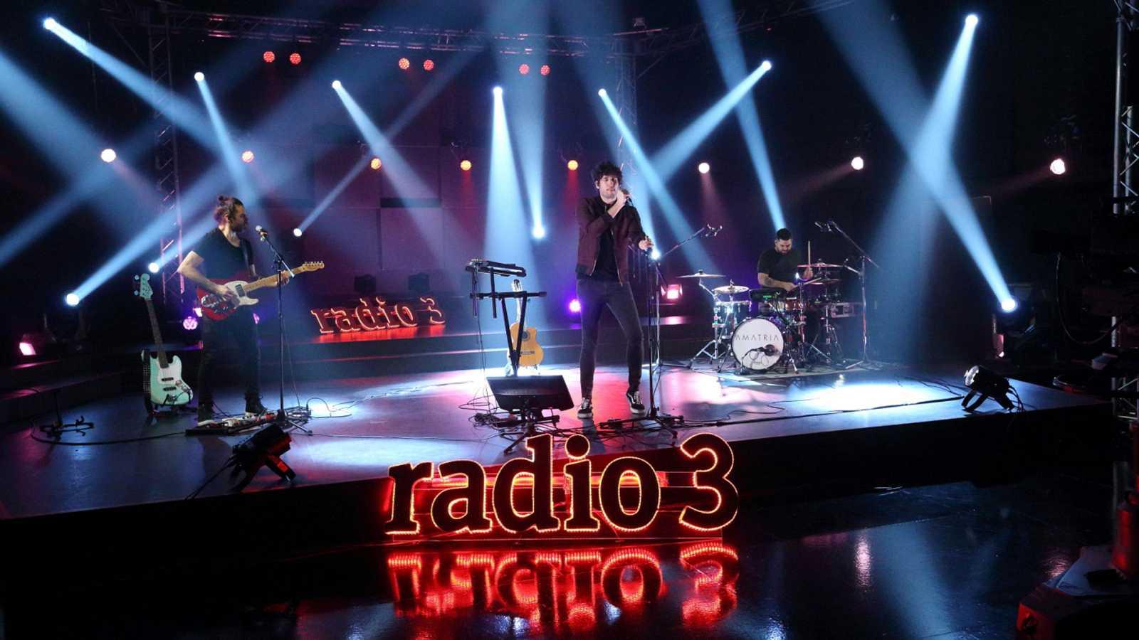 Los conciertos de Radio 3 - Amatria - ver ahora