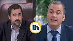 Rifirrafe entre Ortega Smith y Carlos Cue por el veto de Vox a El País