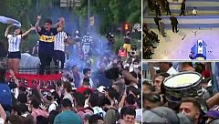 Miles de personas se agolpan para dar su último adiós a Maradona