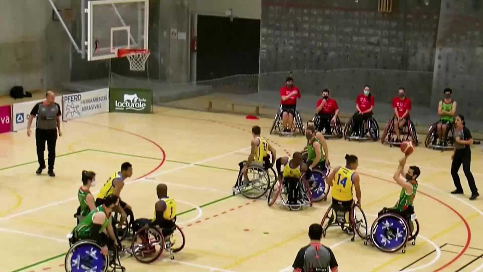Baloncesto en silla de ruedas - Liga BSR División de Honor. Resumen Jornada 4 - ver ahora