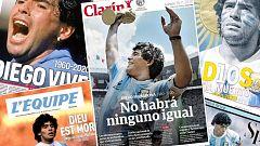 La muerte de Maradona paraliza Argentina