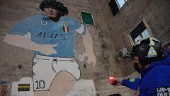 Nápoles llora por Maradona