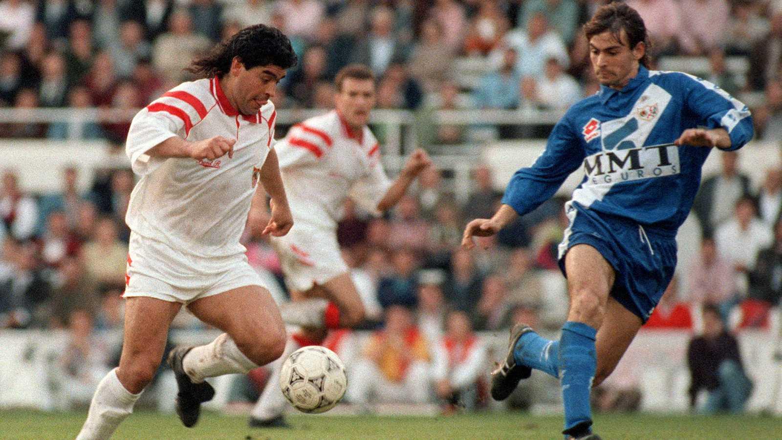Cuando Maradona revolucionó Barcelona y Sevilla