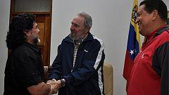 Los líderes de la izquierda latinoamericana despiden a Maradona
