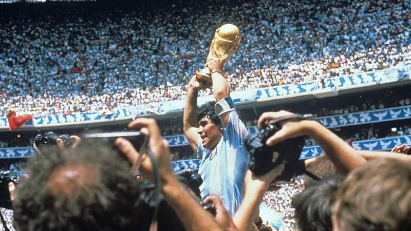 """Maradona: """"Mi primer sueño es jugar un mundial. Y el segundo, ganarlo"""""""