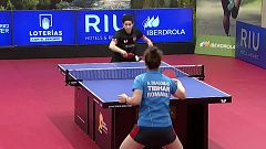 Tenis de mesa - Master internacional masculino y femenino (II). Final femenina desde Madrid