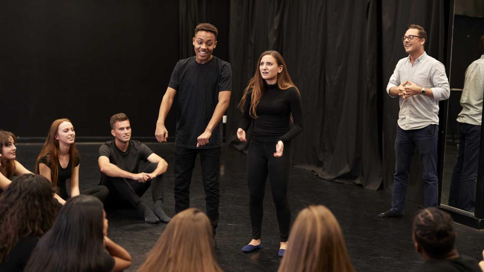 España Directo - Adolescentes en el teatro