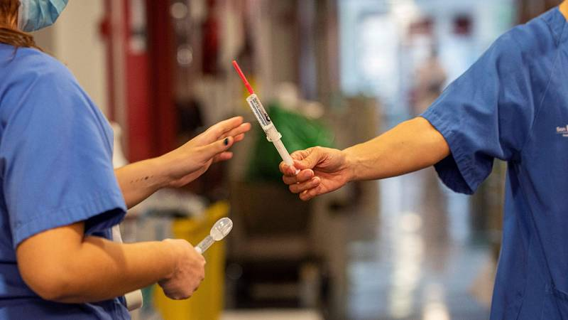 Los estudiantes de enfermería, un apoyo fundamental en los hospitales durante la pandemia