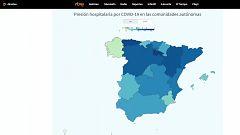 Toda la información sobre la situación de los hospitales en cada comunidad autónoma en RTVE.es