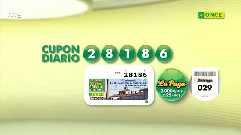 Sorteo ONCE - 26/11/20 - ver ahora