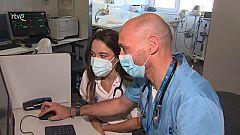 Els estudiants d'infermeria, una ajuda vital