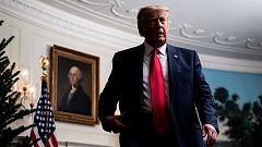 Trump dice que dejará la Casa Blanca si el Colegio Electoral certifica la victoria de Biden