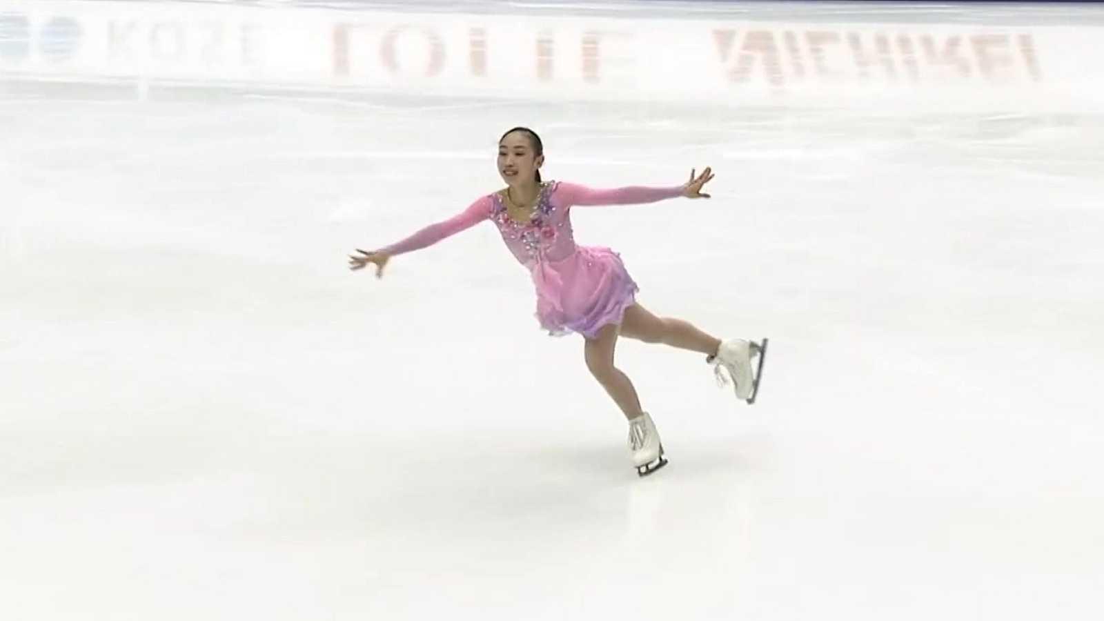 Patinaje artístico - NHK Trophy, Programa corto femenino desde Osaka - ver ahora