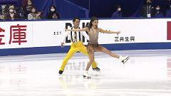 Patinaje artístico - NHK Trophy, Programa corto danza desde Osaka