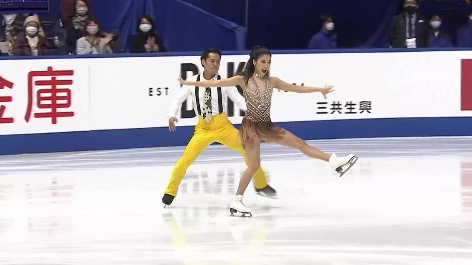 Patinaje artístico - NHK Trophy, Programa corto danza desde Osaka - ver ahora