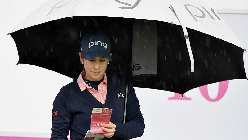 La lluvia arruina la primera jornada del Open de España de golf