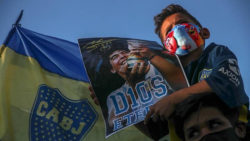 Argentina vive el día 2 D.D (después de Diego)