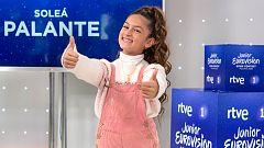 Eurovisión Junior 2020 - Rueda de prensa de Soleá, la representante de España