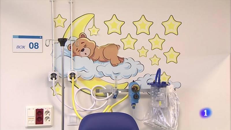 El Hospital San Pedro de Logroño estrena un espacio para urgencias infantiles