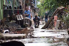 La destrucción y la pobreza que deja el huracán Iota en Honduras, caldo de cultivo para las maras