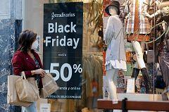 La pandemia provoca un desplome del gasto en el Black Friday
