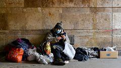 La crisis del coronavirus complica las cosas aún más a las personas sin hogar