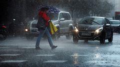 Continúa la inestabilidad con lluvias fuertes en Cataluña y Baleares