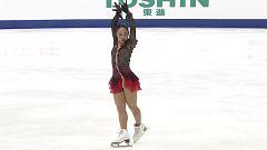 Patinaje artístico - NHK Trophy, Programa libre femenino desde Osaka