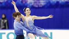 Patinaje artístico - NHK Trophy, Programa libre danza desde Osaka