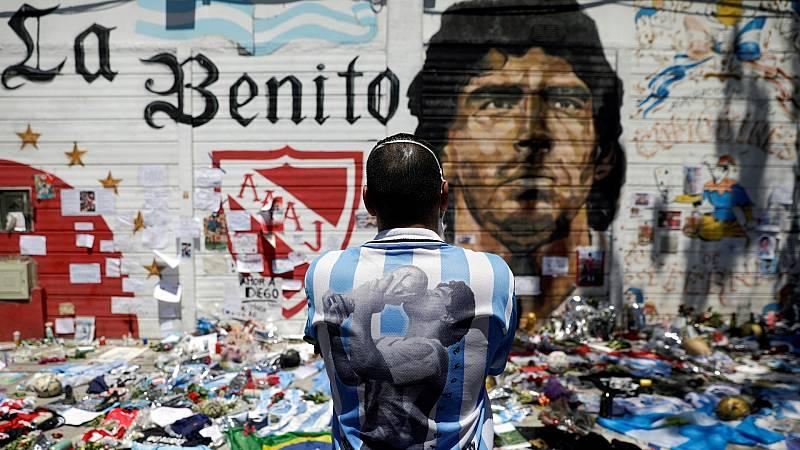 Argentina no olvida a Maradona