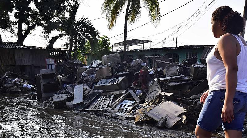 Los niños son uno de los grupos más afectados por las consecuencias de los huracanes en Honduras